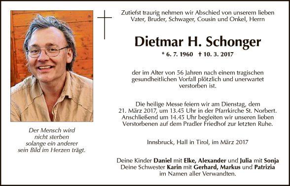Dietmar Schonger
