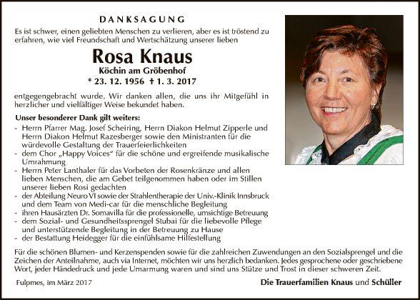 Rosa Knaus