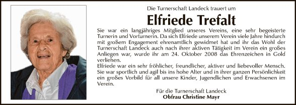 Elfriede Trefalt