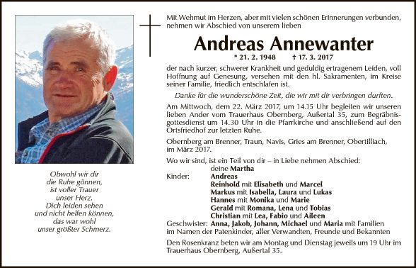 Andreas Annewanter