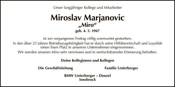 Miroslav Marjanovic
