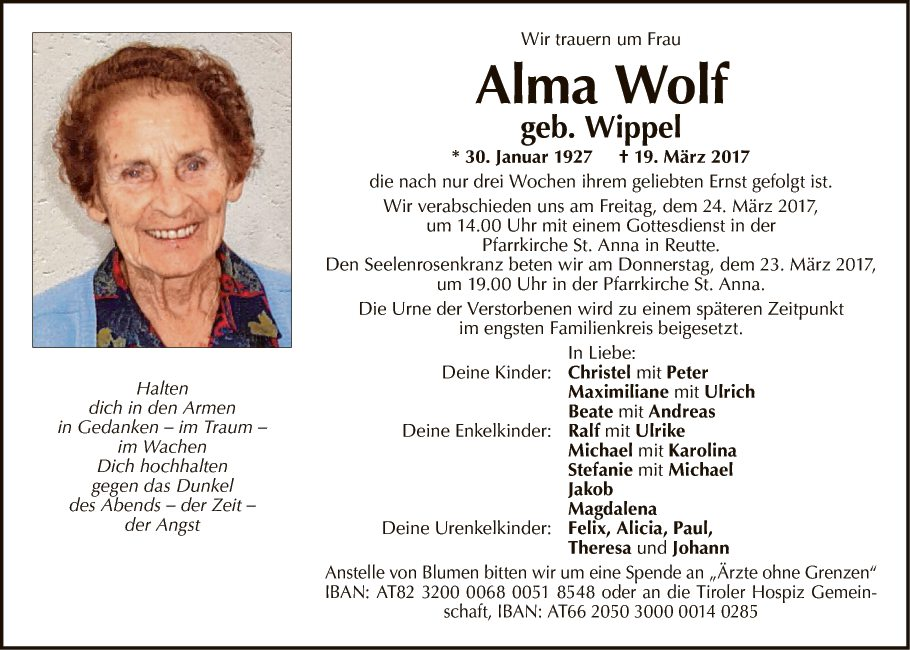 Alma Wolf