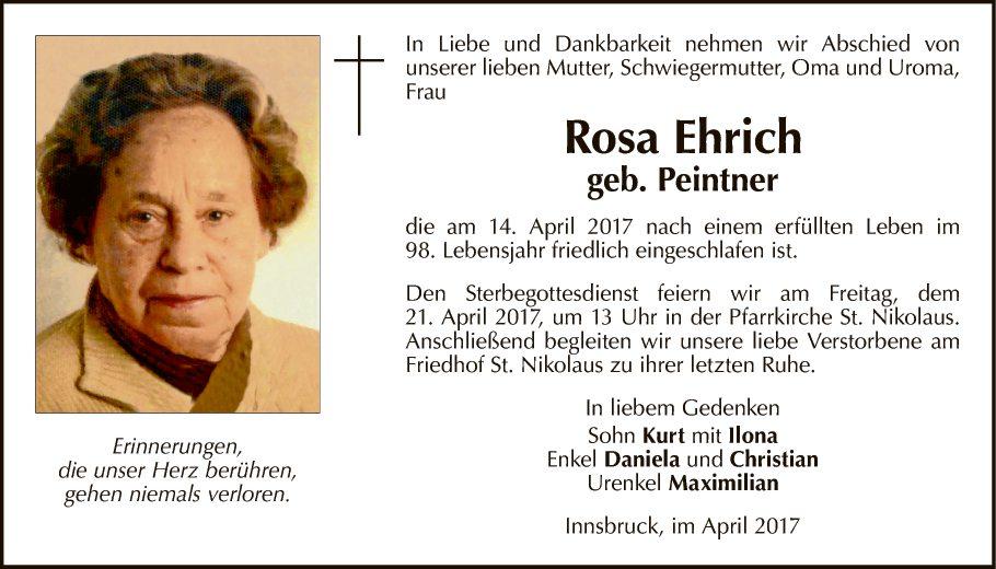 Rosa Ehrich