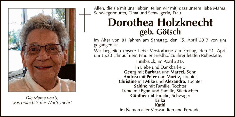 Dorothea Holzknecht