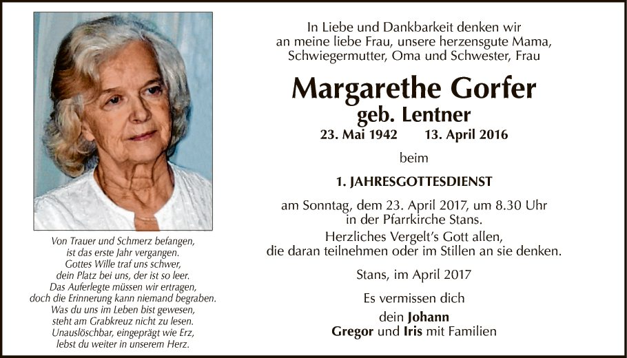 Margarethe Gorfer