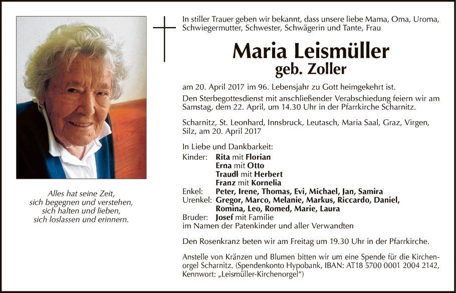 Maria Leismüller