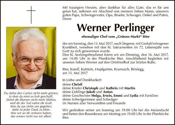 Werner Perlinger