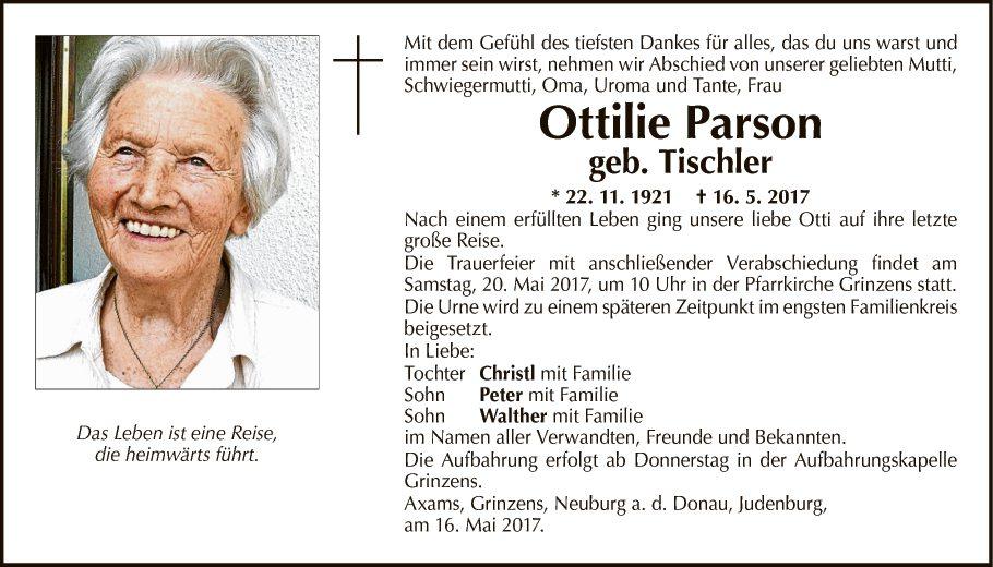 Ottilie Parson