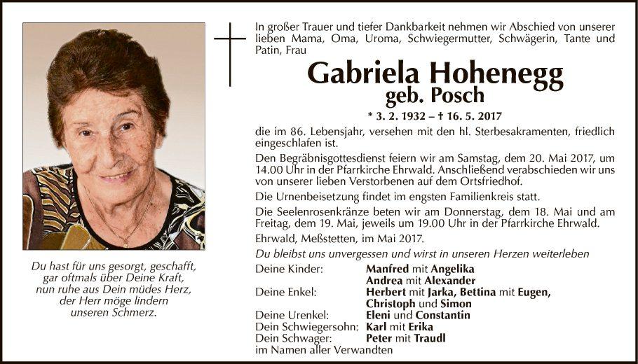 Gabriela Hohenegg