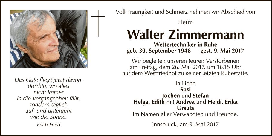 Walter Zimmermann