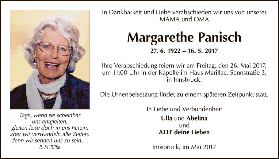 Margarethe Panisch