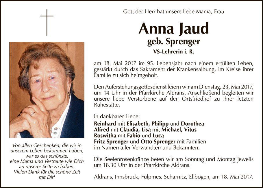 Anna Jaud