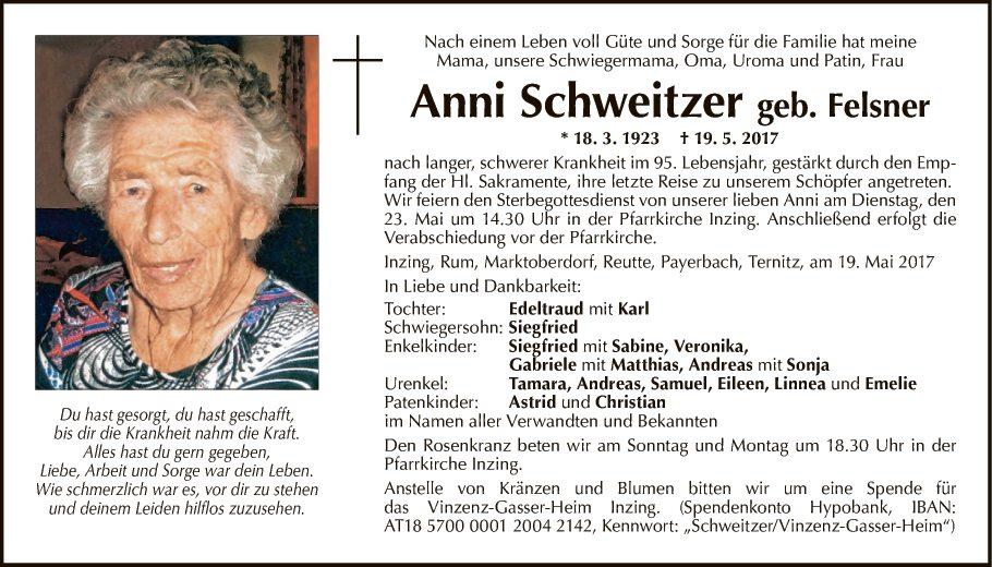 Anni Schweitzer