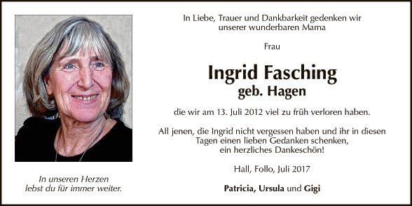 Ingrid Fasching