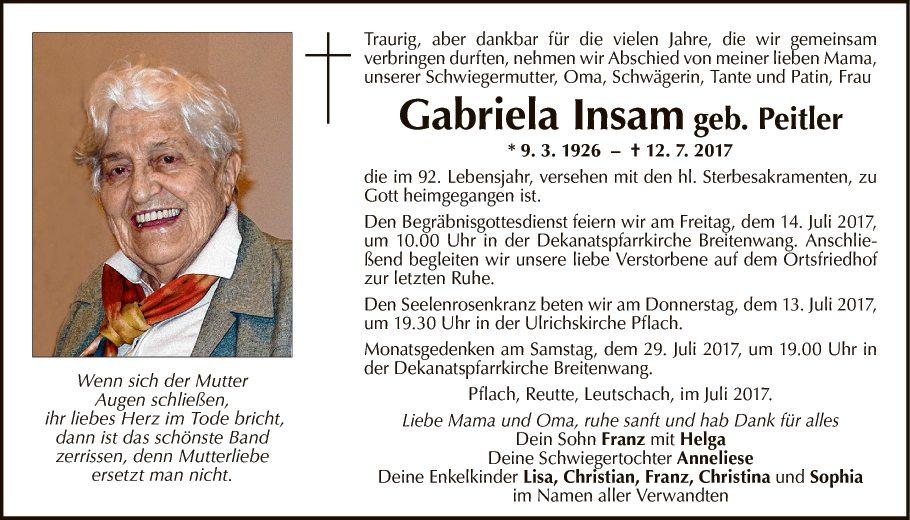 Gabriela Insam