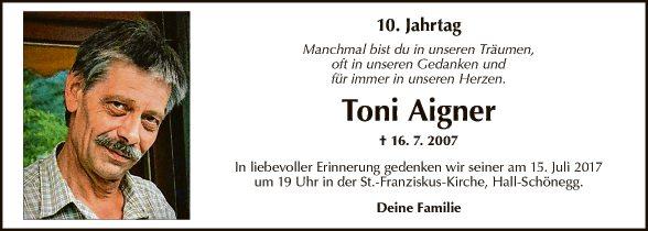 Toni Aigner