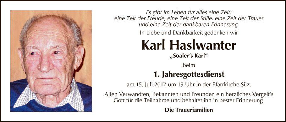 Karl Haslwanter