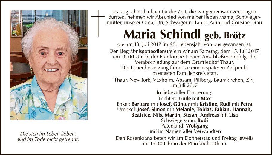 Maria Schindl