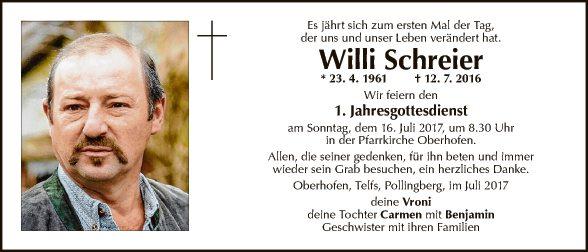 Willi Schreier