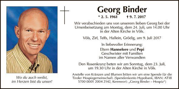 Georg Binder