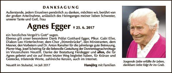 Agnes Egger