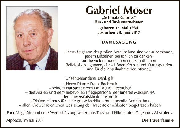 Gabriel Moser