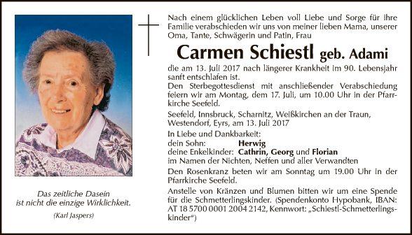 Carmen Schiestl