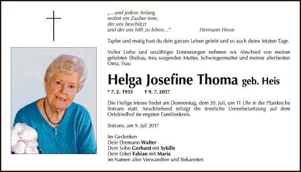 Helga Josefine Thoma
