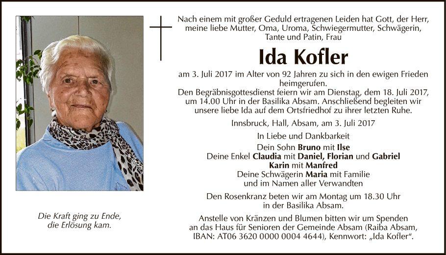 Ida Kofler
