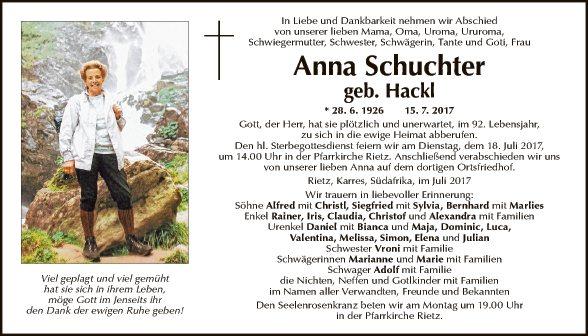 Anna Schuchter