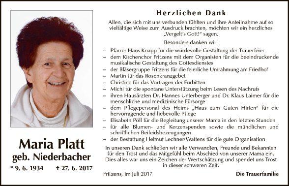 Maria Platt