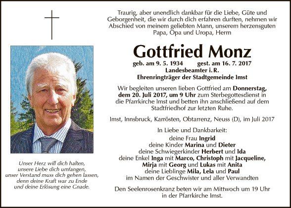 Gottfried Monz