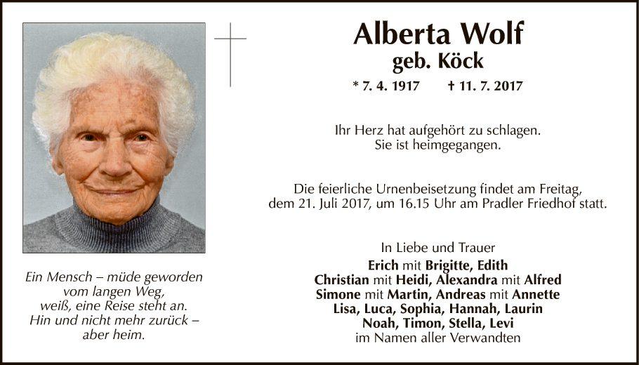 Alberta Wolf