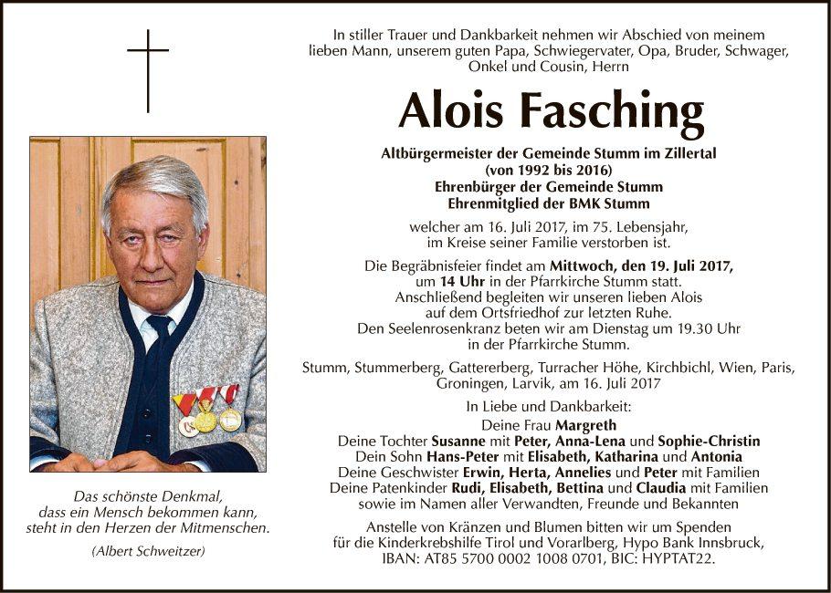 Alois Fasching