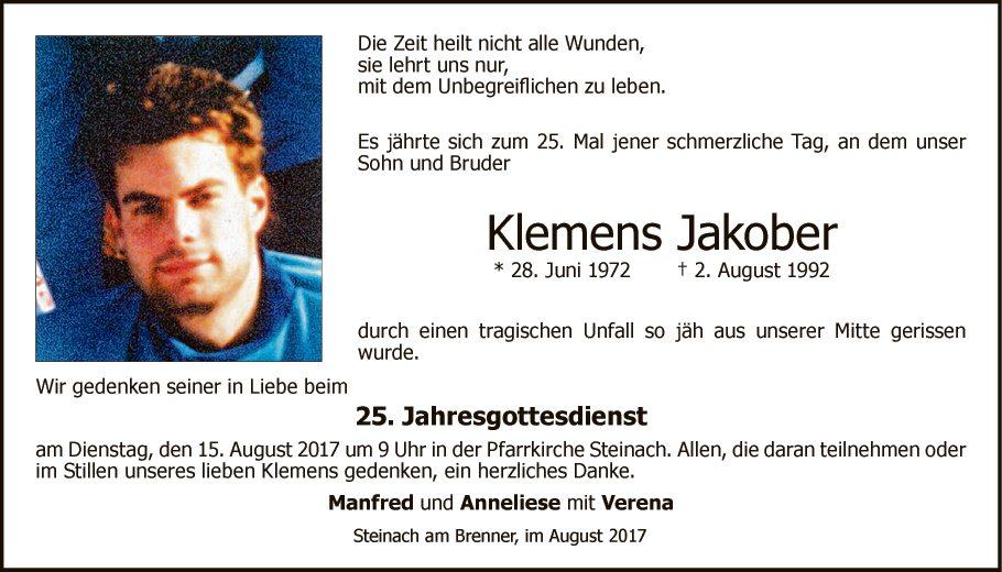 Klemens Jakober