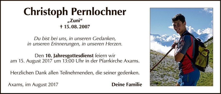 Christoph Pernlochner