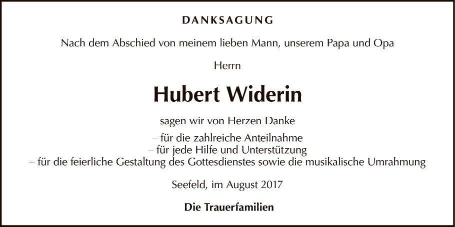 Hubert Widerin
