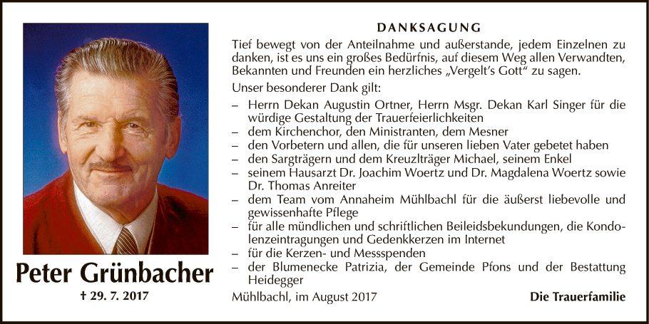 Peter Grünbacher