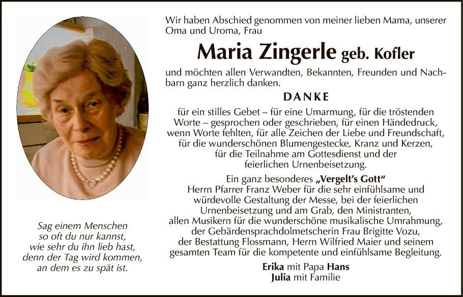 Maria Zingerle
