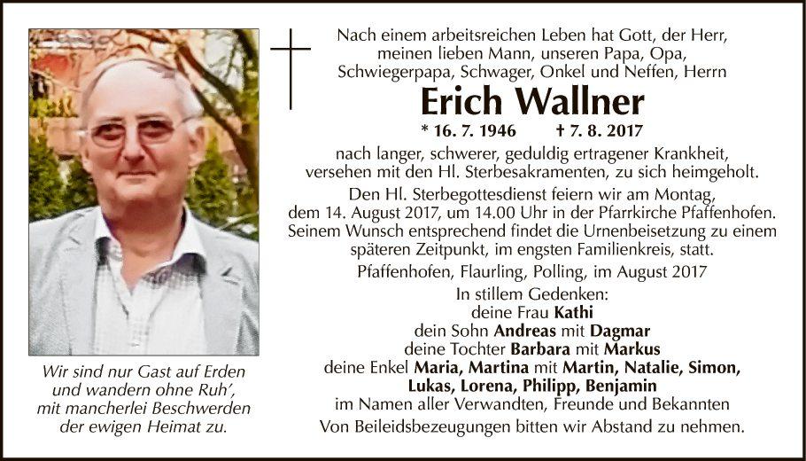 Erich Wallner