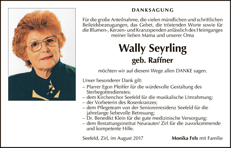 Wally Seyrling