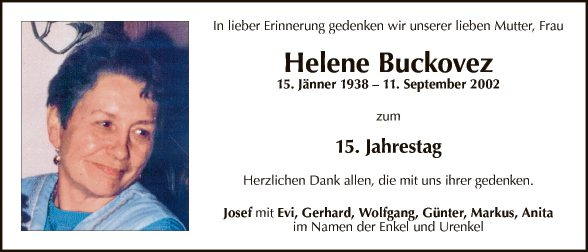 Helene Buckovez