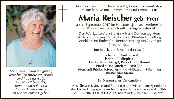 Maria Reischer
