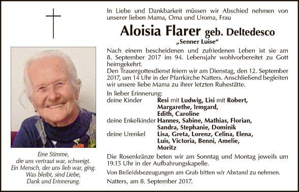 Aloisia Flarer