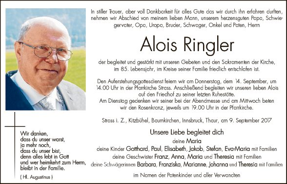 Alois Ringer
