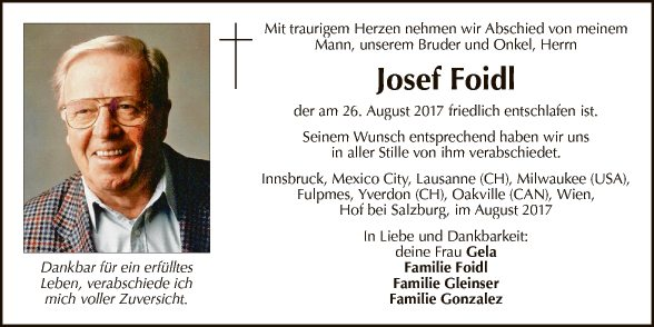 Josef Foidl