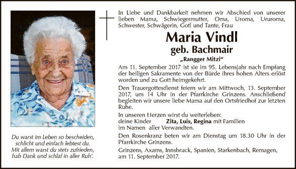 Maria Vindl