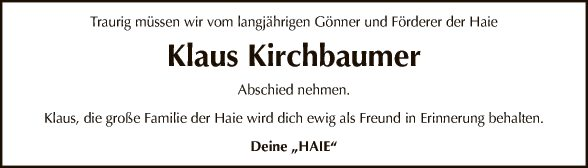 Klaus Kirchbaumer