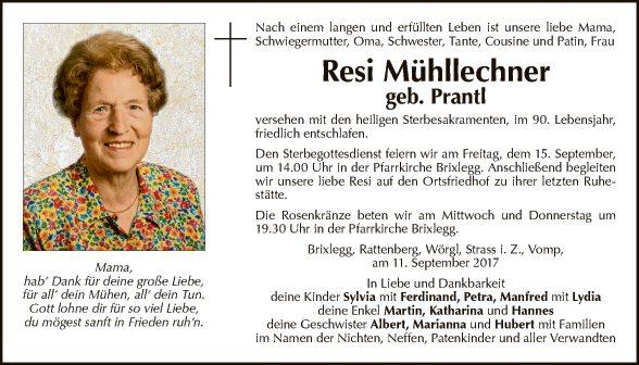 Resi Mühllechner