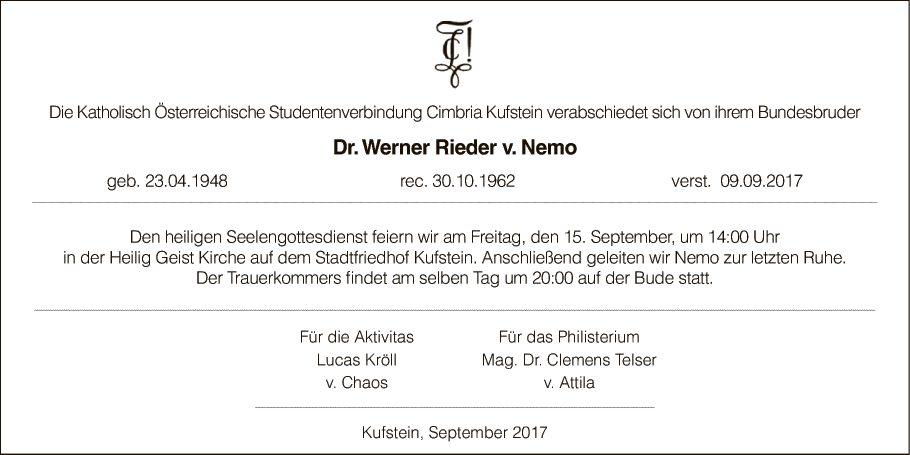 Werner Rieder